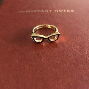 NWOT Kate Spade glasses ring size 8